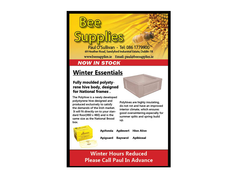Bee Supplies Web Design Project