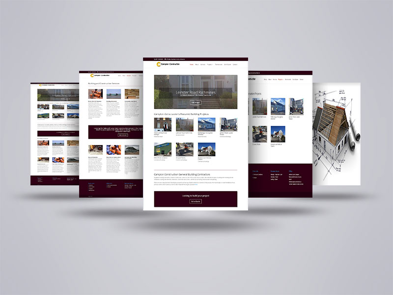 New Website for Campion Construction