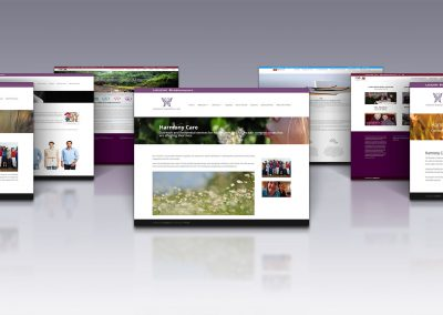 Harmony Care Web Design Project