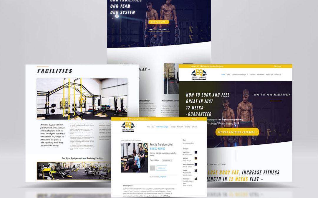 New Gym / Personal Fitness Website