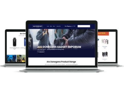 Alo Donegans Website