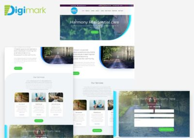 Harmony Care Web Design Project